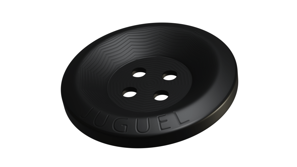 Botón Negro marca Juguel Uniformes